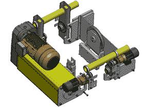 16T电动葫芦全套模型