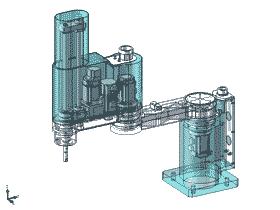 SCARA机器人/完整结构/平面机械手_RBAC3002
