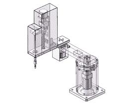 4轴关节型机器人/scara平面机械手/3D图纸+2d图纸+BOM全套_RBAC3003