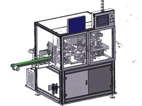 游隙检测激光打标涂油甩干一体机