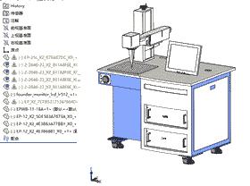 打标机模型方案/3D图纸