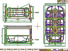 垂直循环机械式立体车库