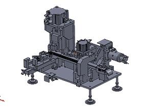 端子折弯插入机/3D模型/3D图纸