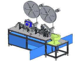 插端子设备/插针机3D模型 ZDAC1001