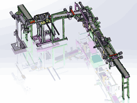 自动化灌装流水线生产_ZDBF1002