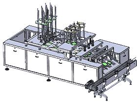 酸奶灌装机(液体定量灌装机)_ZDBF1006