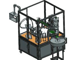 双头全自动活塞式液体灌装机_3D图_ZDBF1008