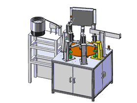 转盘式膨胀阀阀体组装机SW11