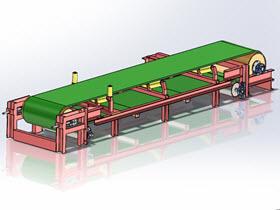 皮带式输送机 3D图纸