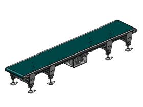 2m皮带线输送机_SPSB2001_3D图纸