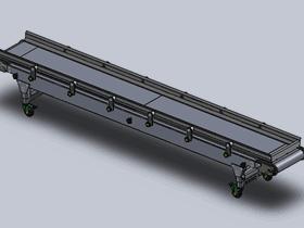 皮带传送带输送机_SPSB2005_3d图纸模型/ SW2012原格式图纸