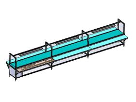 铝型格线装成流水线 6米输送线_SPSB2007_3D图纸