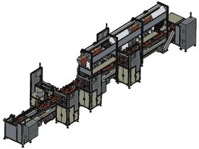 苹果音箱后盖组装流水线(完整原档+工程图) 3D模型(SolidWorks设计,提供Sldprt/Sldasm/SLDDRW文件)