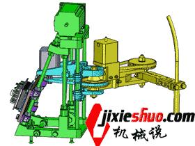 平面同步带SCARA机器人 3D图纸模型_RBAC1004