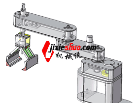 scara分选机器人 3D图纸模型_RBAC1005
