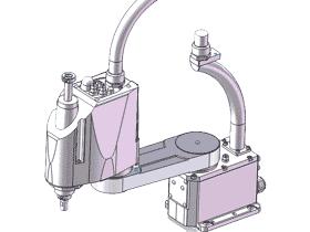 四轴机器人外形方案_RBAC1006