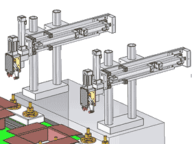 RBAE1001_自动送料机气动上料机械手