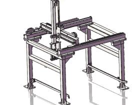 RBAE2003_三轴龙门桁架机械手上下料机器人