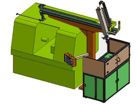 数控车床自动上下料机sw2015_RBAE2009