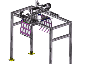 三坐标龙门架式机械手Solidworks2013_F819_RBAE2012