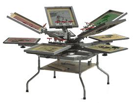 轮转丝网印刷机_SPAA2004