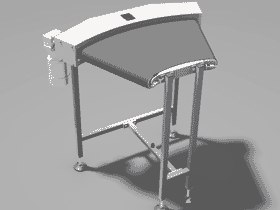 45度弯形皮带机_SPSF1010