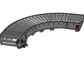 弯型90度圆弧式滚筒输送_SPSF5001