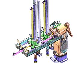 自动搬运机械手_注塑机械手_工件自动夹取搬运机构_RBAN2003_