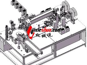 压力感应器焊线焊锡机/ccd点胶检测机_ZDWA1004
