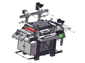 F500中等幅面模切机3D图纸_G344_ZDCM2004