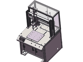 三轴自动锁螺丝机3D图纸设计F600_SPLA1004