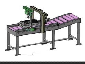 在线钻孔机3D图纸 K397_SPSA2002_3D图纸模型