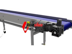长皮带输送机3D图纸_K614_SPSB1009_3d图纸模型