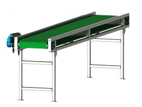 皮带输送机_F795_SPSB1010_3D图纸模型