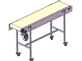 简易型皮带机_SPSB1011_3D图纸模型
