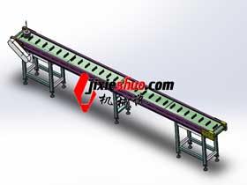隔音房流水线输送带3D图纸 F407_SPSB1015_3D图纸模型