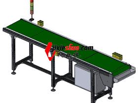 2500输送线、自动化输送机_SPSB2009_3D模型