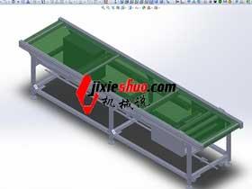 3M标准单层皮带线_K521_SPSB2010_3D图纸模型