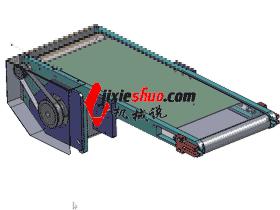 皮带传送带设计_SPSB2011_3D图纸模型