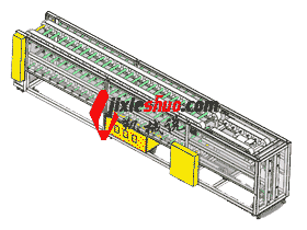 皮带输送线原档3D图纸_F747_SPSB2012_3D图纸模型