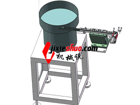 小塑料圆形零件振动盘送料_SPHE2023