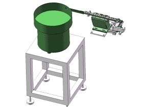 小五金件振动盘供料分料结构图_SPHE2024