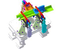左盖板总成焊接夹具_ZDFQ6002_3D图纸