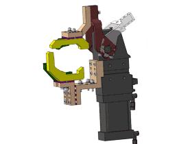 汽车焊接夹具一体式夹紧器标准单元_ZDFQ6006_3D图纸模型