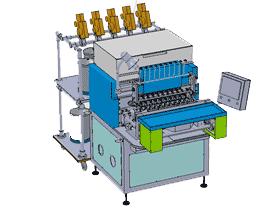 全自动10轴绕线机_ZDRA1001_3D图纸