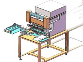 全自动绕线机_ZDRA1005_3D图纸模型