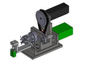 全自动绕线机用圆线漆包线剥皮机_ZDRB2006_3D图纸