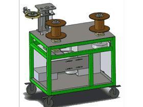 新型绕线机_ZDRB2009_3D图纸模型