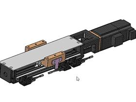 KK滑台 solidworks 3D标准件库 三维零件库