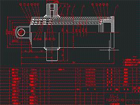 三级液压油缸设计 AACD0002solidworks  3D图纸 三维模型